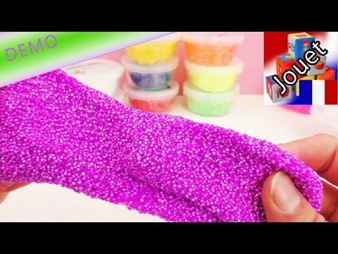 Foam Clay pâte à modeler avec petites perles – 10 boîtes avec plein de couleurs! | Unboxing et Démo