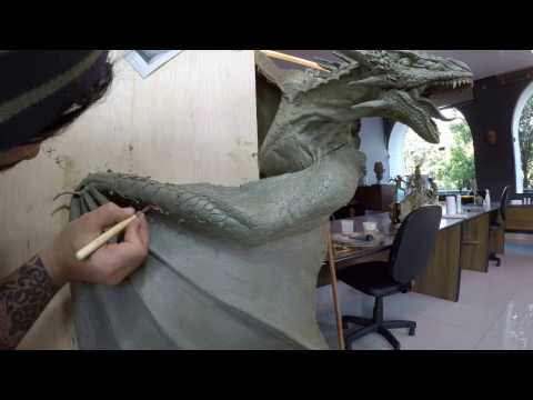 Time-laSculpting textures - Wyvern