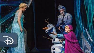 Disney Cruise Line's 'Frozen, A Musical Spectacular' | #DisneyMagicMoments