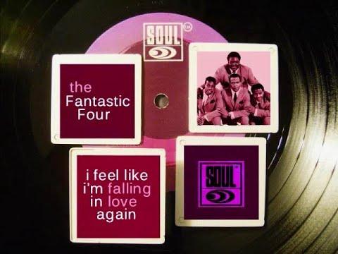 """Motown Music""  ""The Fantastic Four I Feel Like I'm Falling In Love Again"""