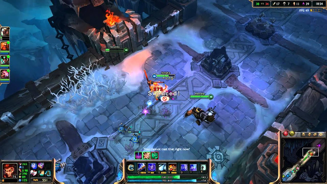 Matchmaking for ARAM in League of Legends