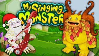 ВЫВОДИМ РЕДКИХ МОНСТРОВ Мультяшная игра для детей МОИ ПОЮЩИЕ МОНСТРЫ My Singing Monsters