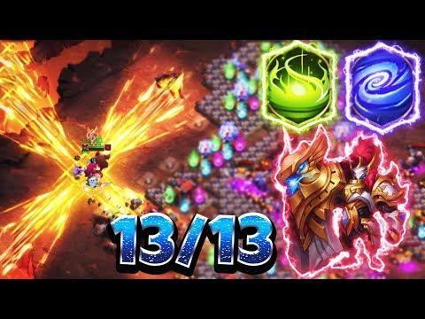 Svalinn 13/13   Deadly Combo   +1,4 Million Heal    SHOWCASE In Insane Dungeons   CASTLE CLASH