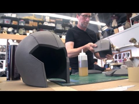 Видео, How to Build a Foam Cosplay Helmet For Honor game