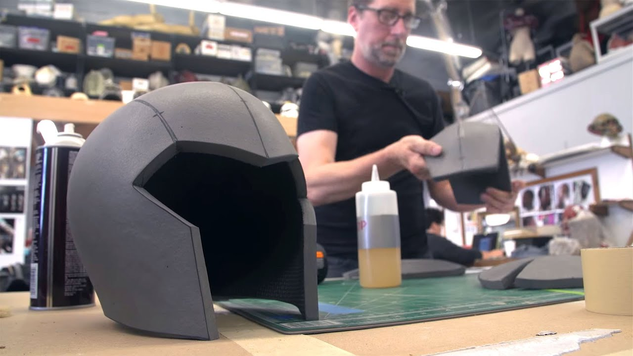 how to build a foam cosplay helmet for honor game youtube