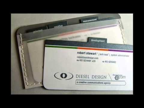 Best business card sample