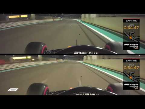 McLaren's Head-To-Head Qualifying Battle Finale   AWS   2019 Abu Dhabi Grand Prix