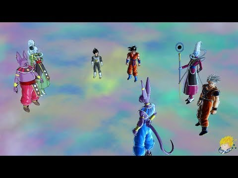 Dragon Ball Xenoverse 2 : Goku Insults Champa & Vados Challenges Whis Story DLC