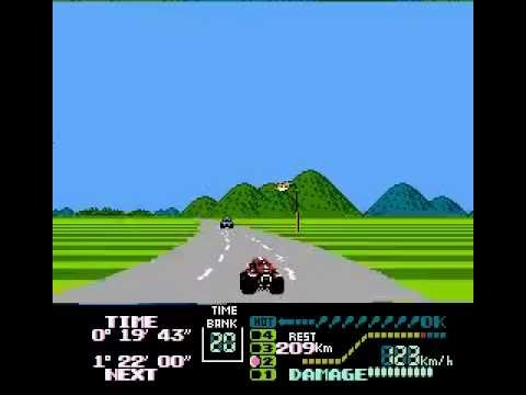 Famicom Grand Prix II 3D Hot Rally gameplay