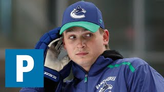 Canucks coach Travis Green reacts to Jake Virtanen sex misconduct allegations   The Province