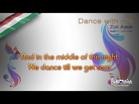 "Zoli Ádok - ""Dance With Me"" (Hungary) - [Karaoke version]"