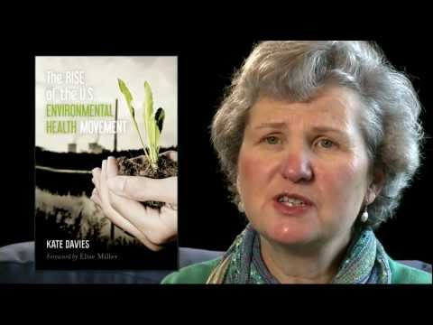 """Kate Davies book trailer """"The Rise of the US Environmental Health Movement"""""""