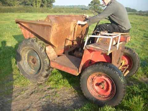 1 Ton Dumper With Petter Engine