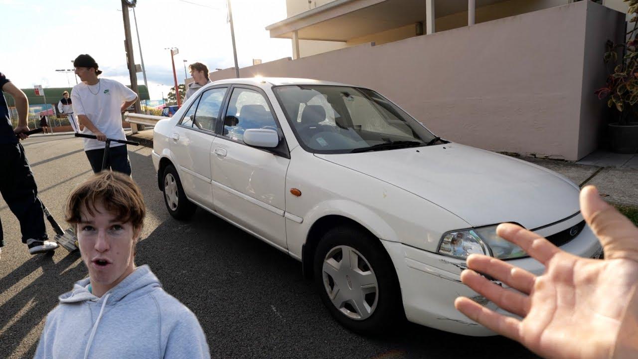 My friends car got stolen..