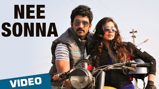 Official: Nee Sonna Video Song | Yagavarayinum Naa Kaakka | Aadhi | Nikki Galrani