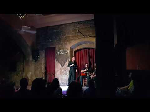 Flamenco show at the PALAU DALMASES de Barcelona