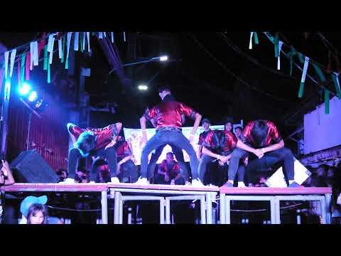 X TEAM - BRGY SAN ROQUE NAVOTAS CITY. DANCE CONTEST. JAN 23 2020.