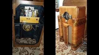 1939 Zenith 7S363 Console Radio Restoration
