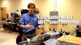 e flite spitfire mk xiv safe select technology