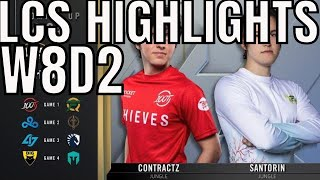 LCS Highlights ALL GAMES Week 8 Day 2 Summer 2020 League Championship Series