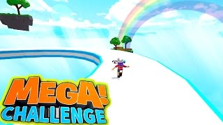 ROBLOX LET'S PLAY MEGA CHALLENGE SPEED RUN OBBY | RADIOJH GAMES