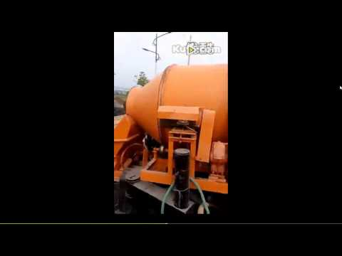 JBT Concrete Mixer With Pump Working Flow