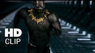 BLACK PANTHER Movie Clip  Hyperloop Fight Scene (2018) Marvel Movie HD