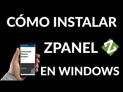 ¿Cómo Instalar ZPanel en Windows?