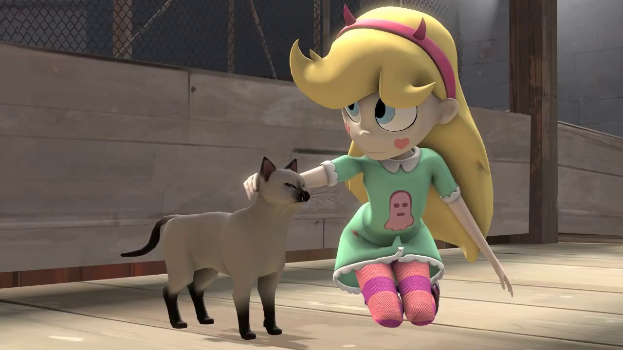 Star Vs The Forces Of Evil Season 4 Episode 1 Star Stroking A Cat