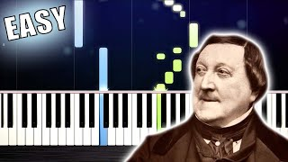William Tell Overture - EASY Piano Tutorial by PlutaX