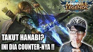 STOP TAKUT SAMA HANABI !! COUNTERNYA SUDAH DITEMUKAN !! - Mobile Legends Indonesia