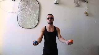 #34. Обратный мультиплекс 2М (видео уроки по жонглированию от ПГ)
