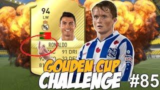 GOUDEN CUP CHALLENGE #85 - IS LARSSON BETER DAN RONALDO?!