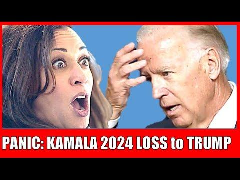 Kamala Harris 2024 panic: Democrats Worried Harris Won't be able to Beat Trump in 2024 election