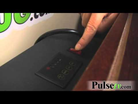 ProLectrix Electric Fireplace Heater with Remote - YouTube
