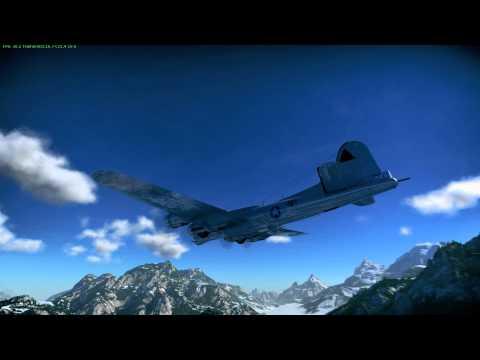 War Thunder : Me410 50mm vs B-17E Flying Fortress