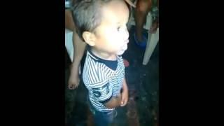 Diomezito!! Niño Canta Con El Sentimiento Del Cacique Diomedes