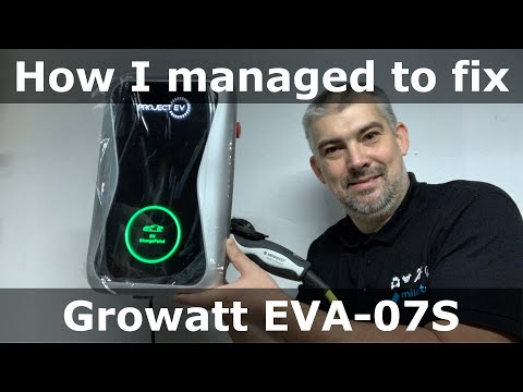 How I managed to fix faulty Growatt (Project EV) EVA-07S charging station