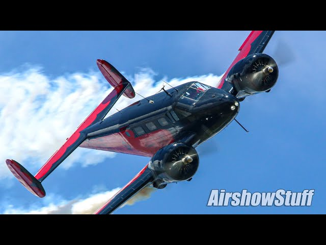 In the Box! Matt Younkin Twin Beech Aerobatics - Thunder Over The Heartland 2021