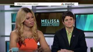 Rea Carey, Laverne Cox, CeCe McDonald and Katie Burgess on the Melissa Harris Perry Show