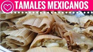 TAMALES de Rajas con Queso Receta -  Las Recetas de Laura  Recetas de Comida Saludable