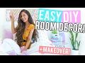 EASY DIY Room Decor / DIY MAKEOVER 2017! + Mini Room Tour! Cheap + Affordable!