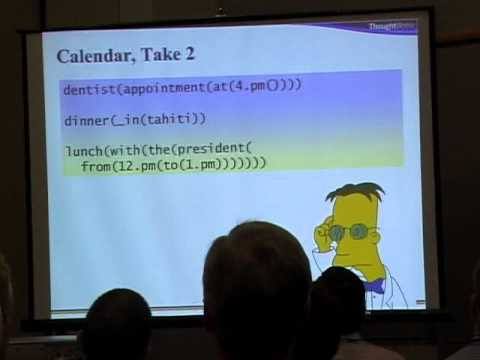 Neal Ford - writing Domain Specific Language in ruby - OSCON 2006