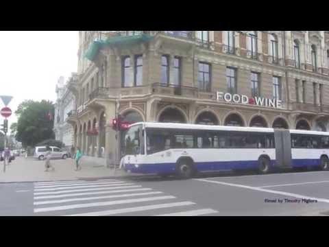 Buses of Riga, Latvia