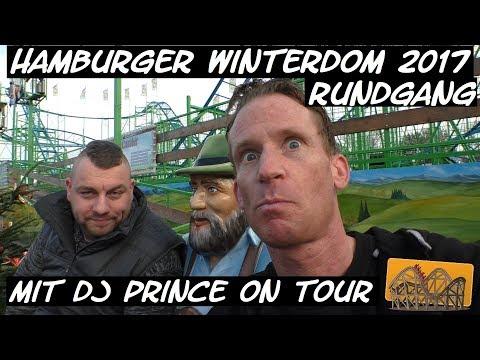 Hamburger Winterdom 2017 Rundgang | Funfair Blog #134 [HD]