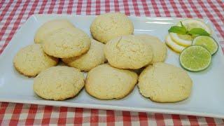 Cómo hacer unas deliciosas y muy crujientes galletas de lima y limón una receta casera muy fácil