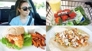VLOG - Car Chit Chat, Groceries & Cook With Me!