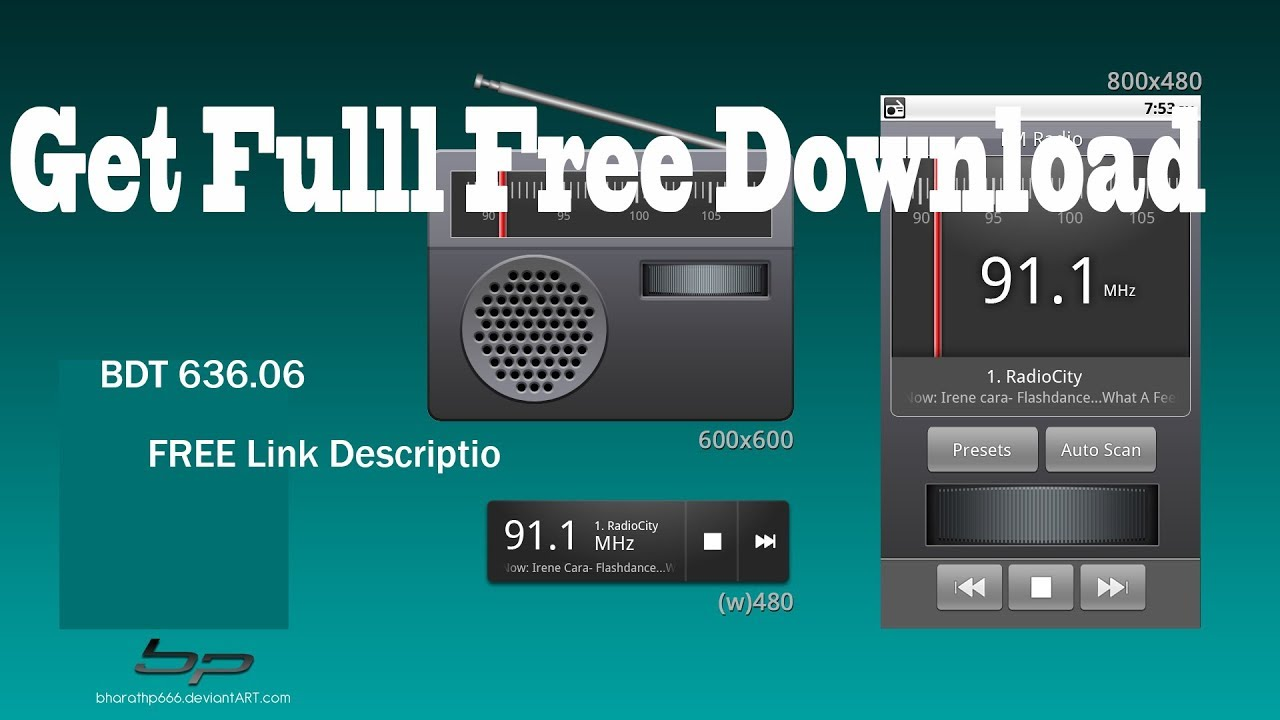 How to Get FREE Real Fm Radio - spirit 2 BDT 636 06 - Fully Free - No Root
