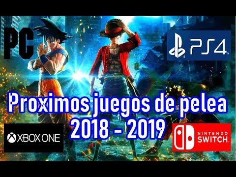 Proximos Juegos De Pelea Pc Ps4 Xbox One Y Switch 2018 2019