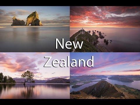New Zealand road trip November 2017 (south island)